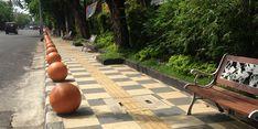 Jalur Pedestrian Semarang Kian Cantik dan Bersih
