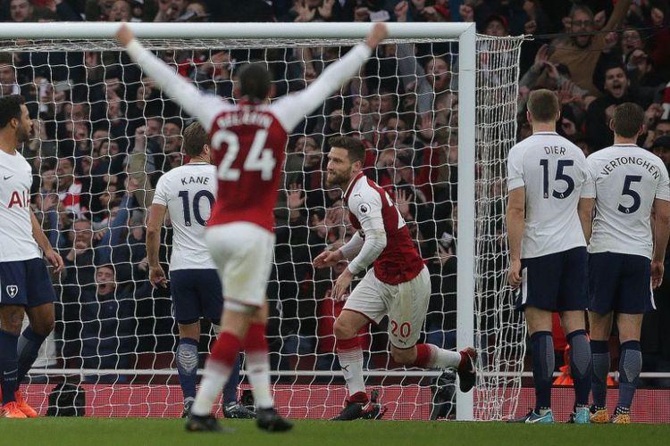Result Liga Inggris Arsenal Putus Tren Negatif Lawan Tottenham