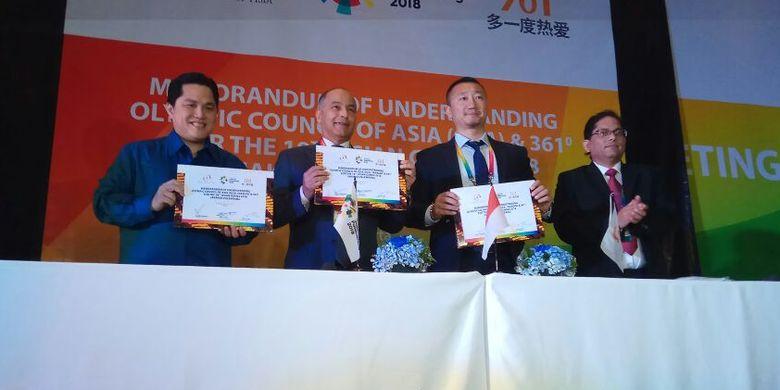 Asian Games 2018 Bakal Pertandingkan 484 Nomor