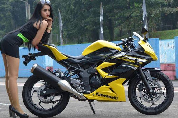 Kawasaki Ninja RR Mono, sepeda motor sport 250cc 1-silinder saat diluncurkan pada 2014 silam.