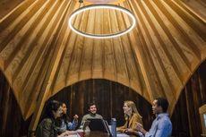 Microsoft Bangun Rumah Pohon untuk Karyawannya