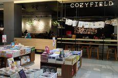Cozyfield, Kafe Nyaman di Dalam Toko Buku