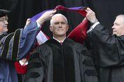 Wapres Pence Pidato, Ratusan Mahasiswa Notre Dame 'Walk Out'