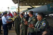 Empat Pesawat Tempur F16 Bantuan Amerika Tiba di Lanud Iswahjudi