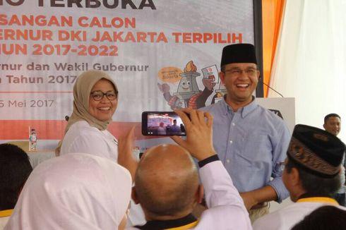 Anies Janji Saat Pelantikan Ada Kursi Khusus untuk Komisioner KPU DKI