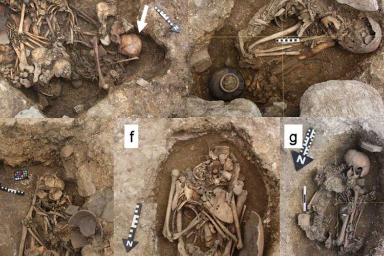 Arkeolog gabungan Jepang-Peru menemukan kerangka manusia di Peru. Temuan ini membuktikan adanya kekerasan pada manusia saat melakukan ritual