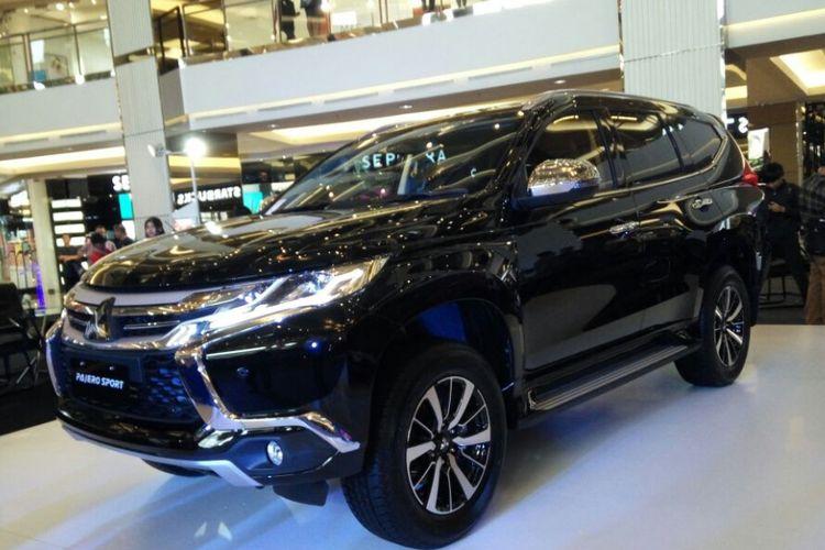 Mitsubishi perkenalkan Pajero Sport 4x2 dan 4x4 CKD degan penambahan fitur keselamatan