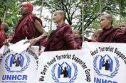 Massa Buddhis Tuduh Badan Bantuan Memihak Rohingya
