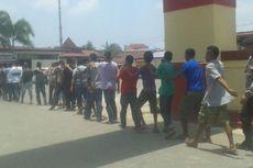 50 Preman dan Penjudi Diamankan Polisi di Terminal Tanjung Priok