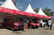 Kesibukan di Posko Siaga Toyota