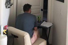 Viral, Kisah Pria yang Setia Menemani Istri di Ruang Isolasi