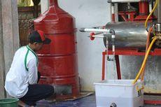 Khawatir Pemanasan Global, Hamdani Ciptakan Alat Pencuci Asap