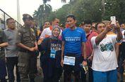 Finis 21 Km di Jakarta Marathon, Berapa Catatan Waktu Berlari Sandiaga?