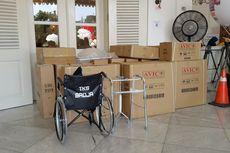 Pendukung Ahok-Djarot Sumbangkan Kursi Roda Melalui Pemprov DKI