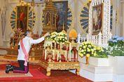 Para Biksu Rayakan Ulang Tahun Vajiralongkorn, di Mana Sang Raja?