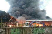 Pabrik Plastik di Bogor Ludes Terbakar