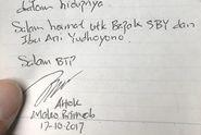 Temui Ahok di Mako Brimob, Agus Yudhoyono Berbagi Cerita dan Doa