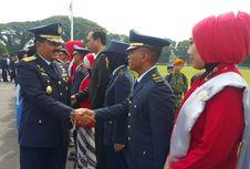 KSAU Lantik 187 Perwira Baru untuk Isi Lanud Terluar di Indonesia