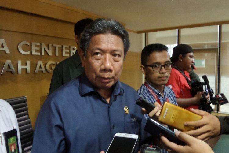 Juru Bicara Mahkamah Agung (MA) Suhadi saat ditemui di gedung MA, Jakarta Pusat, Rabu (13/9/2017).