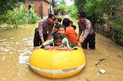 Dua Rumah dan Satu Jembatan Roboh Diterjang Banjir