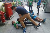 Setelah Lari 10 Kilometer, Sandiaga 'Terkapar' di Aspal Epicentrum