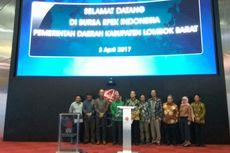 Ini Harapan Bupati Lombok Barat Saat Membuka Perdagangan di BEI