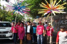 Daftar Calon Wali Kota Madiun, Dosen UI Jalan Kaki Diiringi Musik Rebana