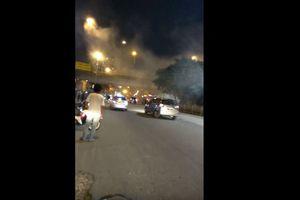 Video Terkait Ledakan di Kampung Melayu yang Beredar di Twitter