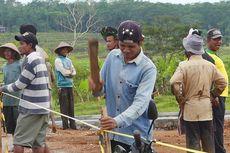 Warga Kemetul Blokade Proyek Tol Salatiga-Boyolali