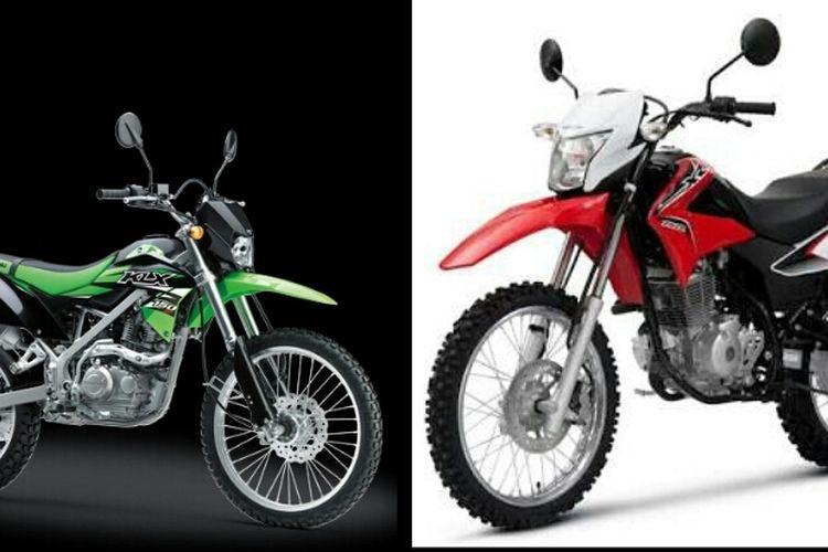 Honda CRF 150L dan Kawasaki KLX 150BF