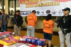Polisi Tangkap Pelaku Penyelundupan Sabu di Tumpukan Ikan Asin