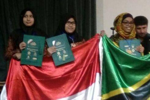 3 Siswi Asal Bandung Raih Medali di Olimpiade Sains di Iran
