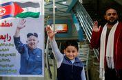 Kecam Pengakuan AS terhadap Yerusalem, Kim Jong Un Jadi Idola di Gaza