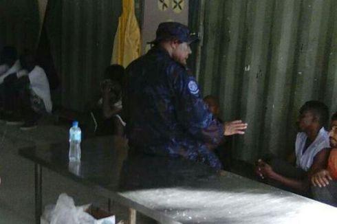 Polisi PNG Usir Penghuni Kamp Pengungsi di Pulau Manus