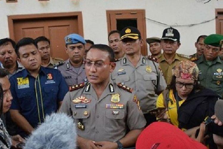 Kapolres Kabupaten Tangerang AKBP Sabilul Alif.