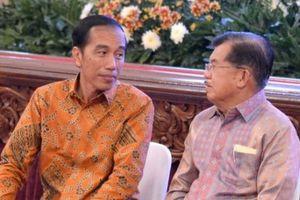 Jokowi Akui Beda Pandangan dengan JK di Pilkada DKI, tetapi Tetap Akur