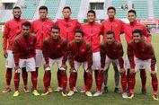 Lapangan Tergenang, Timnas Indonesia Vs Thailand Sementara Imbang 0-0