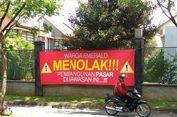 Meski Ditolak Warga, Pengembang Tetap Bangun Pasar di Emerald Bintaro