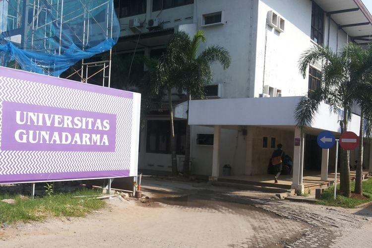 Kampus Universitas Gunadarma, Jalan Margonda, Depok.