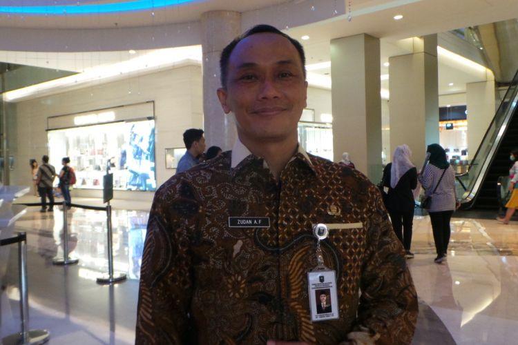 Dirjen Kependudukan dan Catatan Sipil (Dukcapil) Kementerian Dalam Negeri Zudan Arif Fakrulloh, di Kota Kasablanka, Jakarta Selatan, Jumat (20/10/2017).