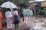 Tanggul Jebol, Daerah Jatipadang Banjir hingga Semeter Lebih