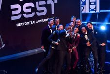 Pada Penghargaan FIFA 2017, Ronaldo dan Messi Tak Saling Pilih