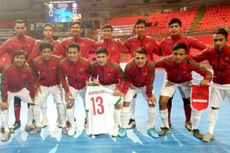 Timnas Futsal Indonesia Gagal Raih Emas