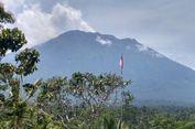 Kawah Gunung Agung Menggelembung 6 Cm