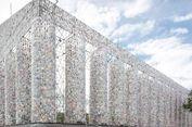 Peringati Kekejaman Nazi, Sebuah Bangunan Dibuat dari 100.000 Buku