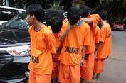 Kejamnya Geng Pembacok Dua Polisi Tak Terlihat Saat Dipamerkan