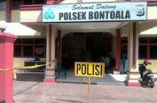 Pelaku Pelemparan Bom ke Mapolsekta Bontoala Di   perkirakan Berjumlah 2 Orang
