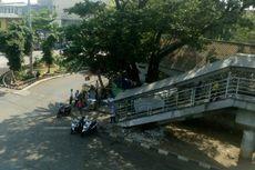 Belum Genap 2 Minggu Ditertibkan, Ojek Kembali Mangkal di Halte Jembatan Besi