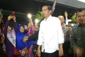 Jokowi dan Jusuf Kalla Jenguk Korban Bom Kampung Melayu di RS Polri