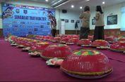 Nganggung, Makan Bersama Ala Bangka yang Disajikan di Dulang